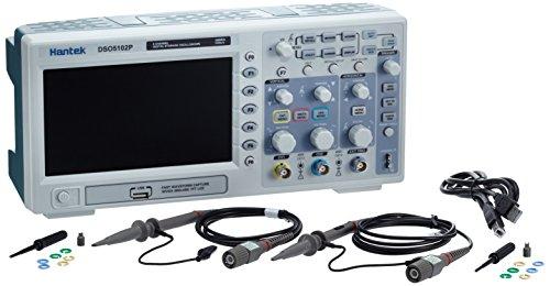 Hantek DSO5102P 100 mhz 2CH Osciloscopio Digital 1GSa/s en tiempo Real Muestras