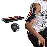"""Brassard sport pour iphone XS Max, Wigoo Bracelet fitness jogging avec Coque antichoc uniquement compatible avec iphone XS Max (6,5"""")"""