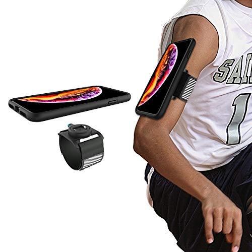 """Wigoo Fascia Braccio armband per iPhone XS Max Jogging Running porta cellulare braccio con custodia antiurto, solo compatibileiPhone XS Max (6,5"""")"""