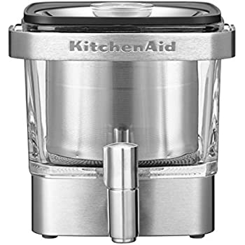 KitchenAid 5KCM4212SX Cold Brew Coffee Maker, 840 ml ...