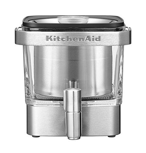 KitchenAid 5kcm4212sx Cold de Brew–Cafetera, acero inoxidable, Plata