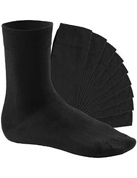 10 Paar EVERYDAY! Socken von footstar für Damen und Herren - Viele trendige Farben | Größen 35-50 | von celodoro
