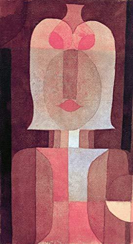 Kunstdruck/Poster: Paul Klee Maske - hochwertiger Druck, Bild, Kunstposter, 50x90 cm