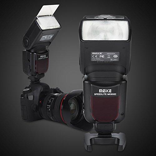 Meike mk320p TTL-Modus Speedlite Speedlight für Panasonic Marco 4/3 Mount E-P5 E-PM E-M1 E-M5 E-M10 E-PL5/L6/L7 GM5 GX1 GX7 GX8 G3 LX100mit gratis Diffusor (Panasonic Lcd-flash)