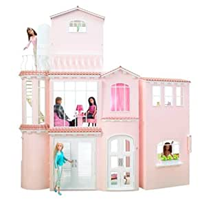 barbie house games house co uk toys amp 10079