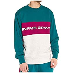 Grimey Sudadera COUNTERBLOW Infamous Crewneck SS18 Green-L