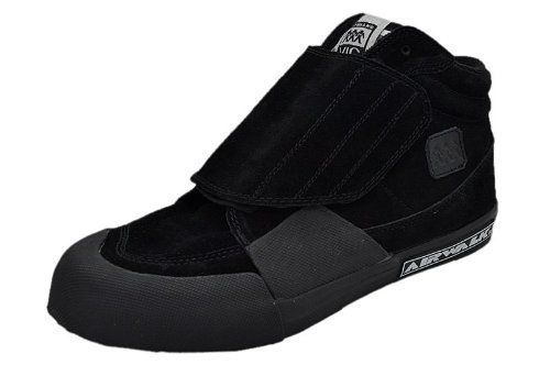 Airwalk Vic Black Suede Schuhe Größe: US 9