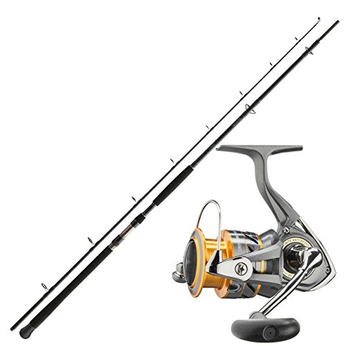 Daiwa Wels Waller Angelset Combo Angelrute & Angelrolle Set - Angeln NO.2