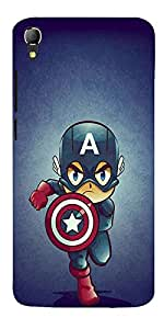 DigiPrints High Quality Printed Designer Soft Silicon Case Cover For Panasonic Eluga Switch