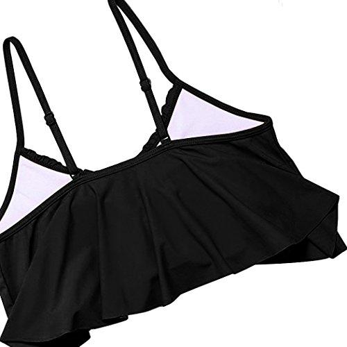 Summer Mae Damen Bikini-Set mit Volant Vintage Badeanzug - 5