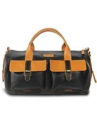 MANOGYA Unisex 30 Liter Travel Duffle Bag | Luggage Cabin | Weekender Bag | (Black)