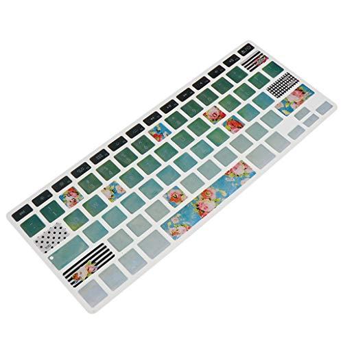 FLAMEER 1 Stück Tastatur Skin Cover Silikon Tastaturschutz weiche Silikonhülle für MacBook 13 Zoll Air Pro Retina Tastaturen - 13-Zoll C9
