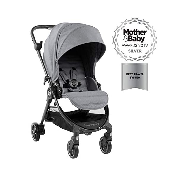 Baby Jogger City Tour LUX Compact Fold Reversible Stroller, Slate Baby Jogger The city tour lux and has a reversible from-birth seat unit for rear or forward travel Features an ultra-compact one hand fold and auto-lock when folded, allowing you to fold and go quickly. includes a carry bag and integrated carry strap a for easy transport With a flip flop friendly hand brake, lightweight and durable pu tyres and all wheel suspension to help keep mum and baby comfortable on many terrains 1
