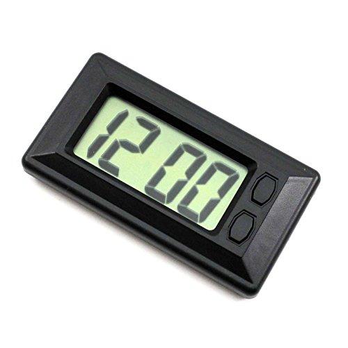 VANKER Reloj Digital LCD ultrafina electrónico automático para visualización del calendario del tablero de instrumentos del