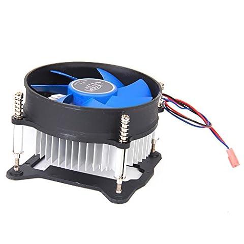 Générique Ventilateur Refroidisseur de Processeur Dissipateur de Chaleur CPU pour