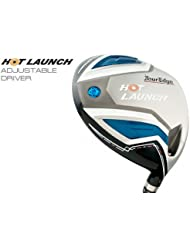 Nuevo caliente de golf Tour borde lanzamiento ajustable 8,5 °-12,5 ° conductor prolaunch azul Regular