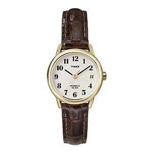 Timex – Reloj de Cuarzo para Mujeres, Correa de Piel