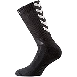 Chaussettes Hummel Authentic Indoor noir/gris