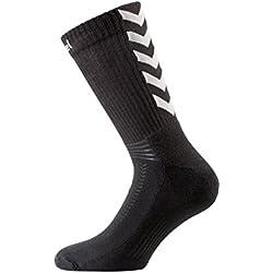 Chaussettes Hummel Authentic Indoor noir/gris