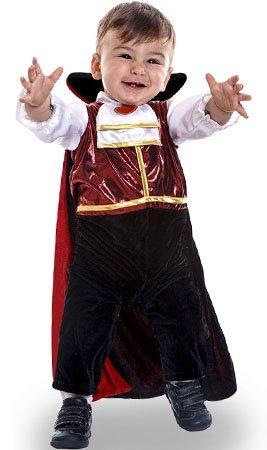 (CRAZY THE PARTY Vampir Klassik Kostüm für Baby T-7/12 Monate)