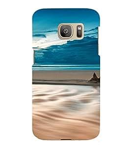 PrintVisa Travel Beach Art Design 3D Hard Polycarbonate Designer Back Case Cover for Samsung Galaxy S7