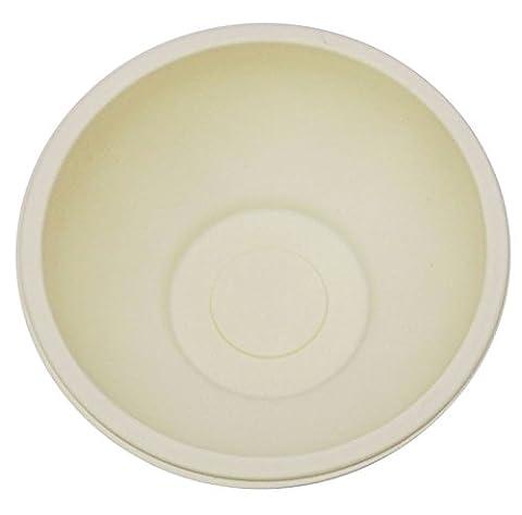 Amidon De Maïs Papery Fait Jetable Bol De Papier Rond Bio-Dégradable Micro-Ondes Partie Sûre Bols 100