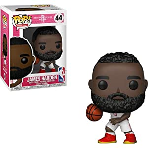 Funko Pop James Harden Houston Rockets camiseta blanca (NBA 44) Funko Pop NBA