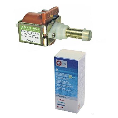 Sparset! Wasserpumpe Ulka EX5 230V + original Entkalker Bosch Tassimo 310967