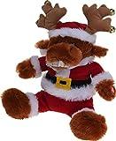 made2trade Singendes Weihnachts-Rentier mit bewegendem Kopf