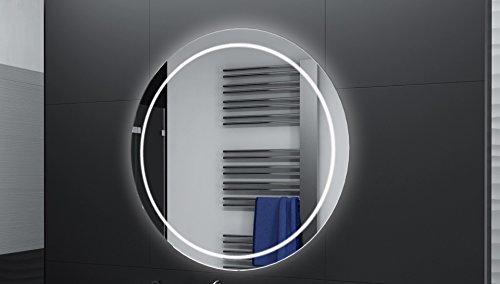 Badspiegel Designo Rund MAR112 mit A++ LED Beleuchtung - 40 cm - Made in Germany - TIEFPREISGARANTIE