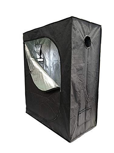 SavingPlus Indoor Grow Box Aluminum Foderato Bud Dark Room per Tenda Luce idroponica Ventola...