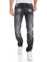 BLZ jeans - Jean noir délavé straight
