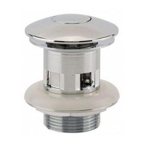 bonde allure - digiclic - diamètre 68 - laiton chromé - hauteur 66 mm - avec lanterne - sortie fileté 33x42 - valentin 122000000