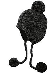 DAKINE Mütze Stella - Gorro de esquí para mujer, color negro, talla L/XL