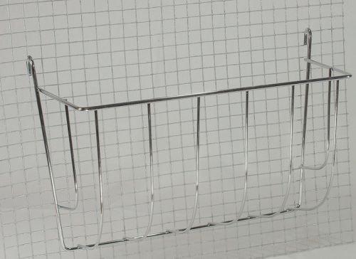 Elmato 10054 Futterraufe Metall, groß, 25 cm