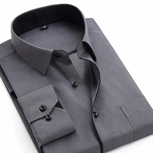 Mens Herren Hemden Wihte Formal Imported Shirts BK11