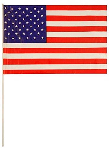 USA Hand Waving Flag 29x17cm x50