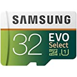 Samsung 32GB 80MB/s Evo Select Micro SDHC Memory Card (MB-ME32GA/EU)