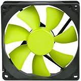 Coolink SWiF2-92P - Ventilador de PC (Ventilador, Carcasa del ordenador, 9,2 cm, Negro, Amarillo, 0,09A, 1,08W)