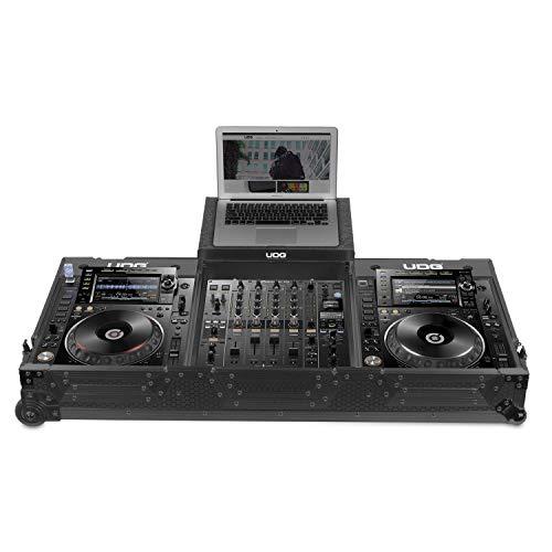 UDG flightcase set CDJ2000/900Nexus II + (laptop e ruote)-nero