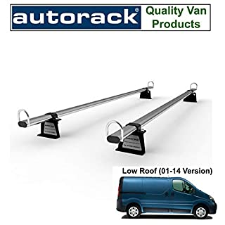 RENAULT TRAFIC Van Roof Rack 2 Bars (2001-2014) - Autorack WorkReady