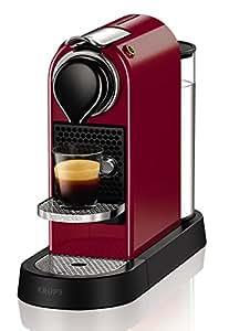 Nespresso XN7405 Citiz Macchina per Caffè Espresso di Krups, Ciliegio
