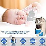 pioleUK Vaporizzatore ad ultrasuoni Portatile Portatile Pratico per Uso Domestico Inalatori e aerosol elettrici