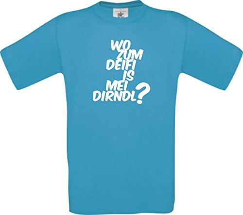 shirtinstyle-shirt-enfant-le-ou-oktoberfest-wiesn-deifi-is-mei-fille-divers-coloris-taille-104-164-t