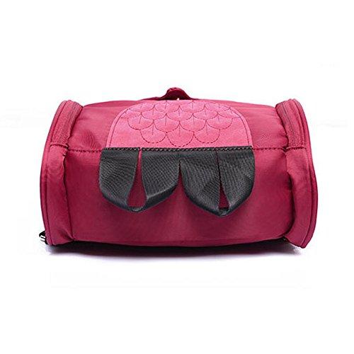 Joyousac, Borsa a zainetto donna rosa rose rose