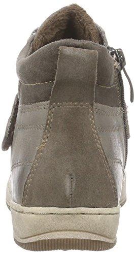 Tamaris 25222, Sneaker alta donna Marrone (Braun (Cigar 314))