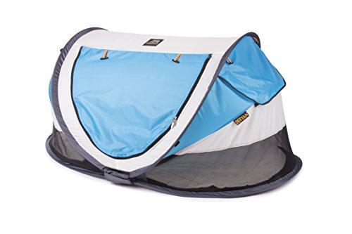 Deryan PL-CR-BLUE Travel-Cot Reisebett Peuter Luxe Khaki, beige - 2