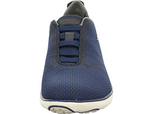 Geox Sneaker Black/Dk. Royal