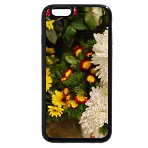 iPhone 6S Case, iPhone 6 Case (Black & White) - Flowerdoggies