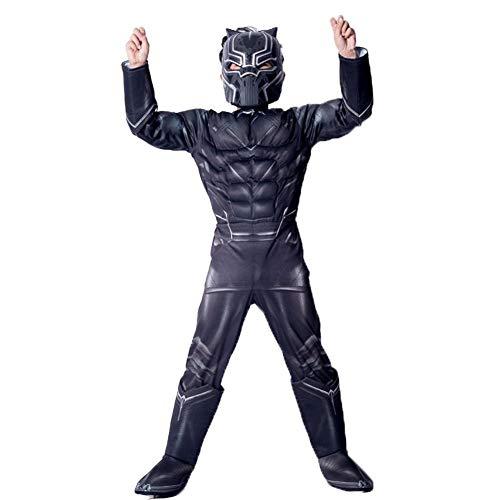 osplay Kostüm Black Panther Cartoon Marvel Comic Mottoparty Halloween Karneval ()